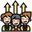 appraisal, assessment, evaluation, improve, performance icon