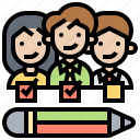 appraisal, assessment, evaluation, form, report icon