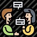 communication, consult, conversation, skills, talking icon