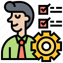 ability, assessment, evaluation, monitoring, performance icon