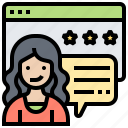 comments, feedback, rating, satisfaction, suggestion icon