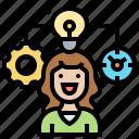 balance, efficiency, management, productivity, working icon