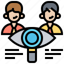 check, evaluation, inspection, recruitment, review icon