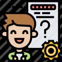 questionnaire, survey, assessment, opinion, test
