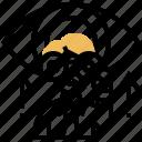 development, insight, plan, target, vision icon