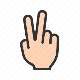 award, hand, happy, sign, success, victory icon