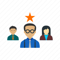 candidates, favorite, interview, job, position, team, young icon