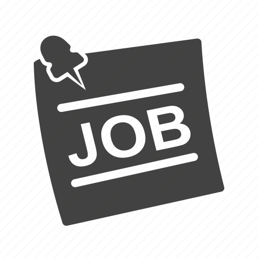 employment, hiring, job, jobs, message, recruitment, vacancy icon