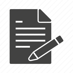 business, computer, document, file, professional, report, writing icon