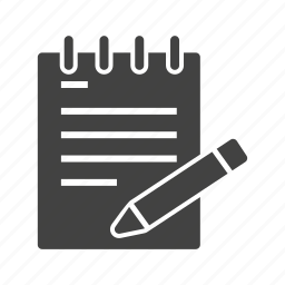 business, computer, document, file, notes, professional, writing icon