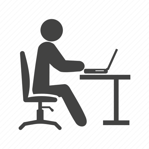 business, busy, computer, office, people, team, working icon