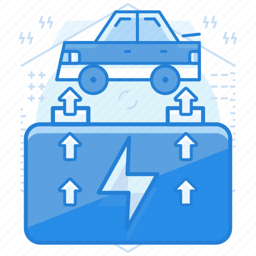 battery, car, charge, vehicle icon