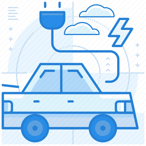 Car, charge, electric, vehicle icon - Download on Iconfinder