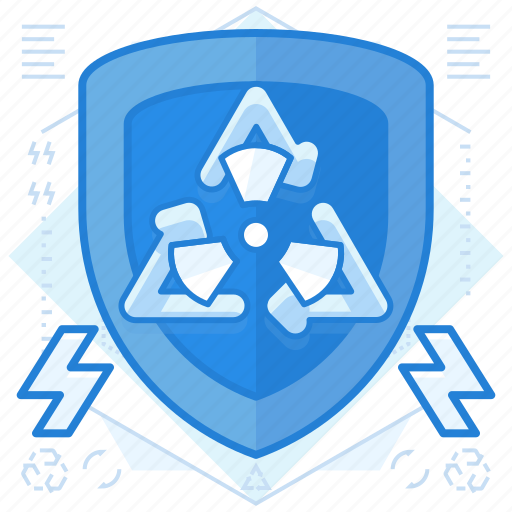 power, recycle, recycled icon