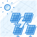 energy, panel, power, solar icon