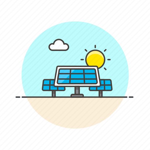 cell, charge, electricity, energy, panel, power, solar, unit icon