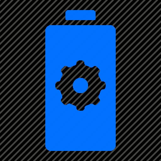 battery, energy, power, settings icon