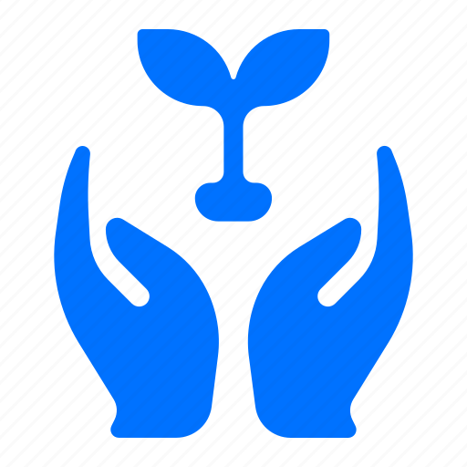 care, ecology, plants icon