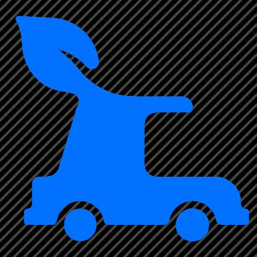 car, energy, green, power icon