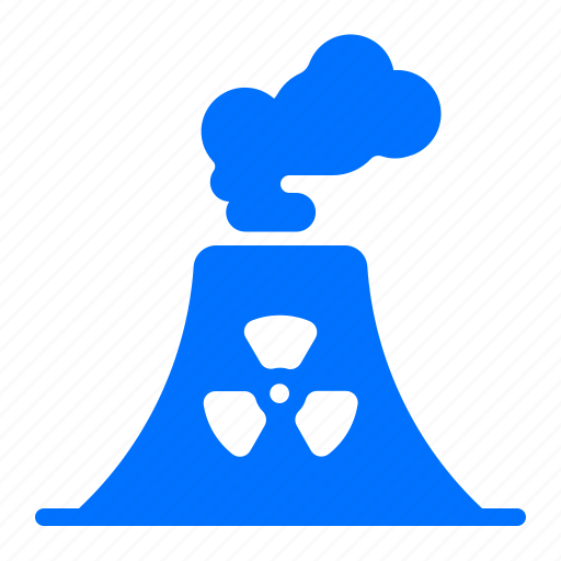 Nuclear, energy, plant, power icon - Download on Iconfinder