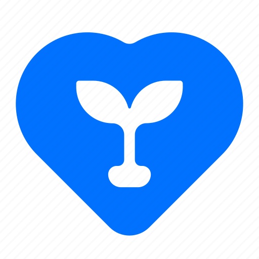 energy, love, plant, power icon