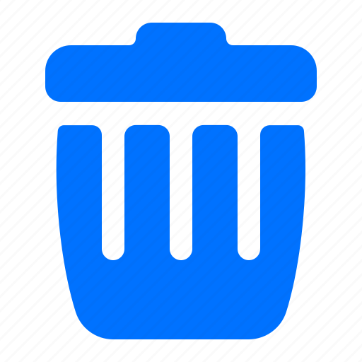 bin, can, trash icon