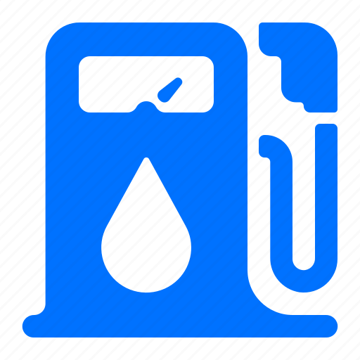 energy, gasoline, power, water icon