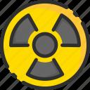 atom, atomic, danger, energy, power, radioaction, radioactive icon