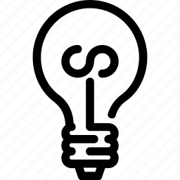 bulb, energy, lamp, light, lighting icon