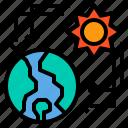 eco, ecology, energy, power, solar icon
