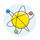 atom, electrons, energy, nuclear, nucleus, orbits, power, structure