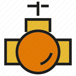 gas, pipe, pipeline icon
