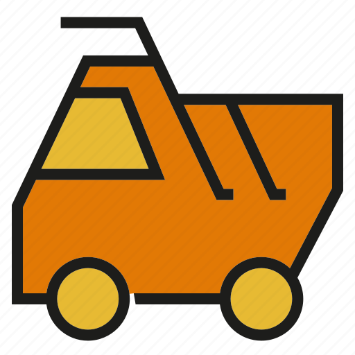 car, mining, transport, truck, vehicle, waggon icon