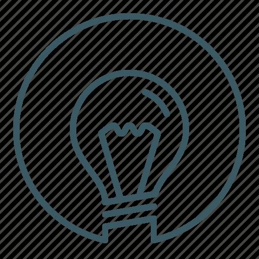 bulb, energy, idea, innovation, light, power, smart icon