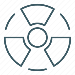 atomic, energy, nuclear, power, radiation, x ray icon