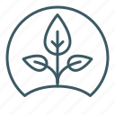 ecology, growth, natural, plant, seed, sprout, sustainable icon