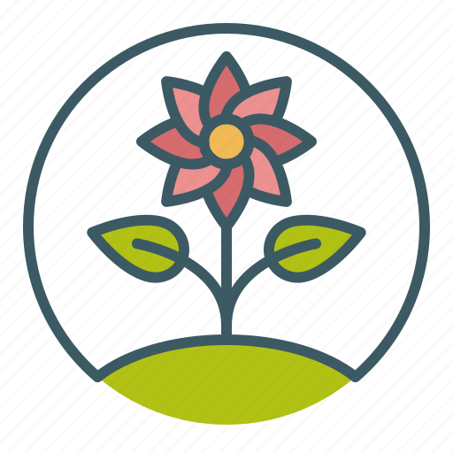 environment, flora, flower, plant, spring, sprout, summer icon