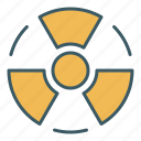 atomic, circle, energy, nuclear, power, radiation, x ray icon