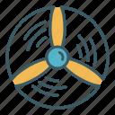 circle, energy, propeller, turbine, wind