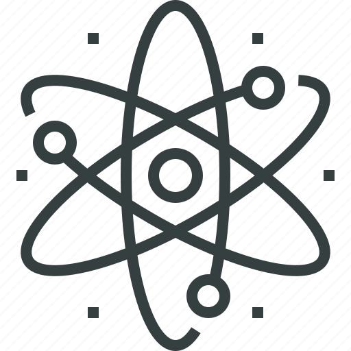 atom, energy icon