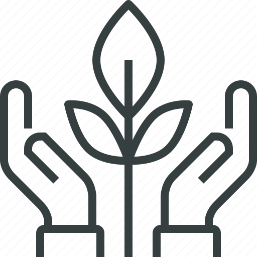 conservation, plant icon
