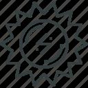 energy, solar icon