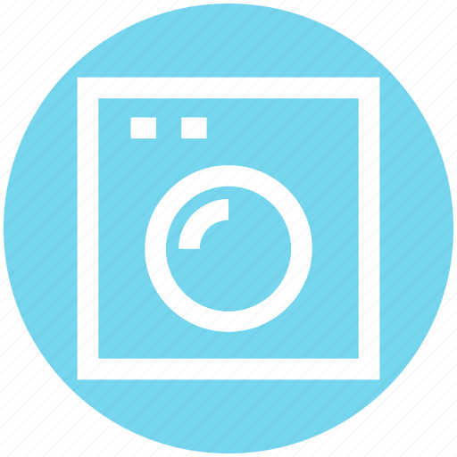 Cleaning, laundry machine, machine, washer, washing, washing machine icon - Download on Iconfinder