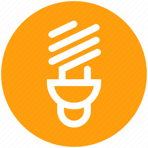 Bulb, energy, lamp, light, saving, spiral icon - Download on Iconfinder