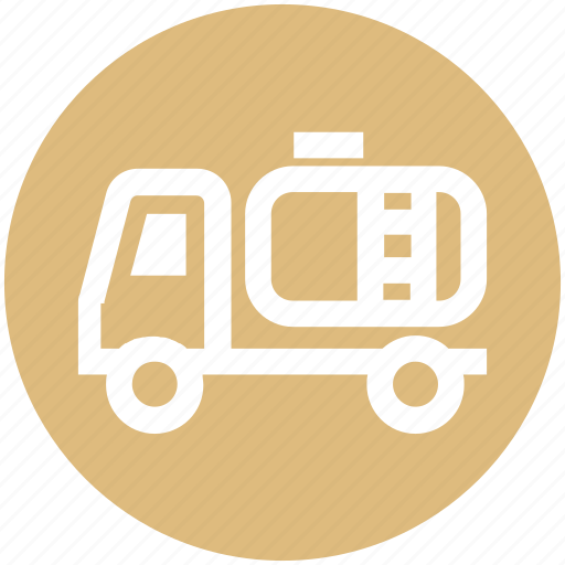 container, energy, fuel, gasoline, petrol, truck icon