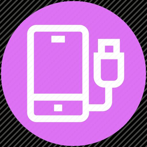 mobile, mobile charging, mobile power, phone, plug, power plug icon