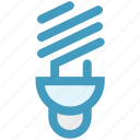 bulb, energy, lamp, light, saving, spiral
