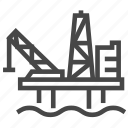 offshore, oil, platform