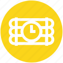 bomb, dynamite, explosion, explosive, military, time bomb icon