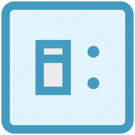 off, on, on off switch, power, power switch, switch socket, wall socket icon